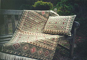Balouch 02 - pillow and rug