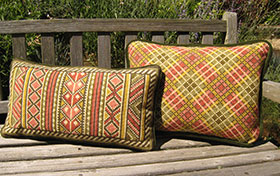 New Berber Back Pillow 06 colors with Plaid 04 colors