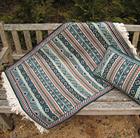 Small Berber Stripe Rug 05 colors