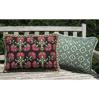 Color related CARBP-04 and PISA-BP-07 pillows