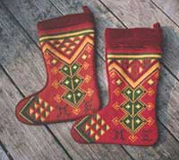 Christmas stocking 01 and 05 colors
