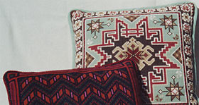 Kilim 04 with Chevron 03