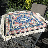 Kilim 08 table top throw