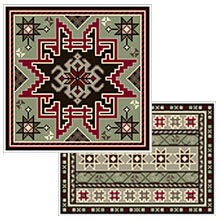 Small Kilim and Kilim Stripe 04 colors