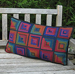 Pillow Pattern: LOG CABIN