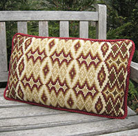 Small Morocco Back Pillow 02 colors