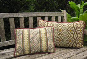 Morocco Back Pillow 04 with Celtic Knot 03 colors