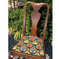 Newport Upholstery on chair seat
