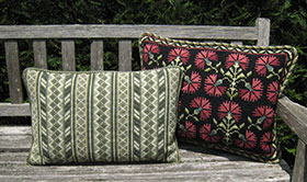 Oahu 02 with companion Carnation Back Pillow 04