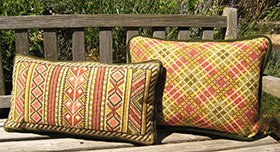 Plaid 04 with Berber Back Pillow 06