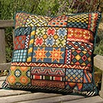 Pillow & Upholstery Pattern: SAMPLER