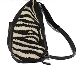 Large Zebra shoulder bag