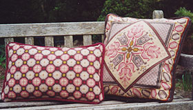 Tulip 08 and Honeycomb 08 pillows