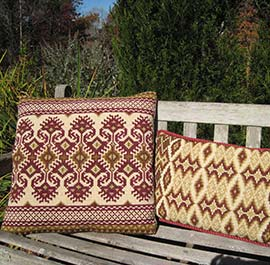New Kilim II pattern with companion Small Morocco 02